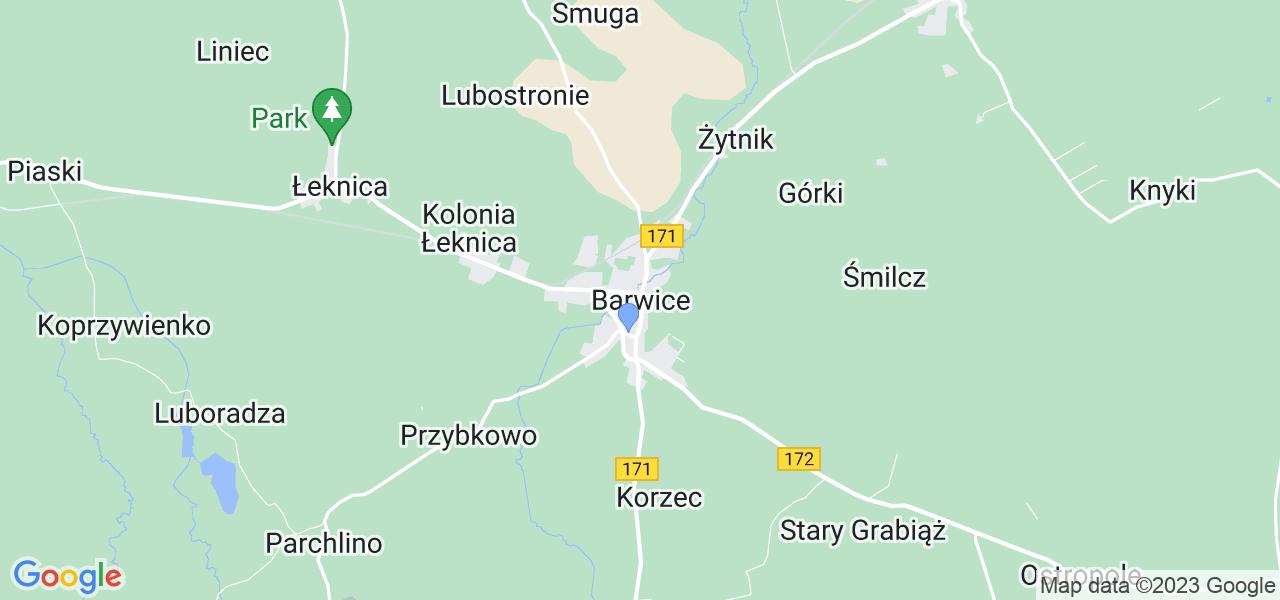 Dostępne w Barwicach lokalizacje punktów nadania, z których możesz skorzystać, chcąc wysłać turbinę do regeneracji w największym serwisie w Polsce