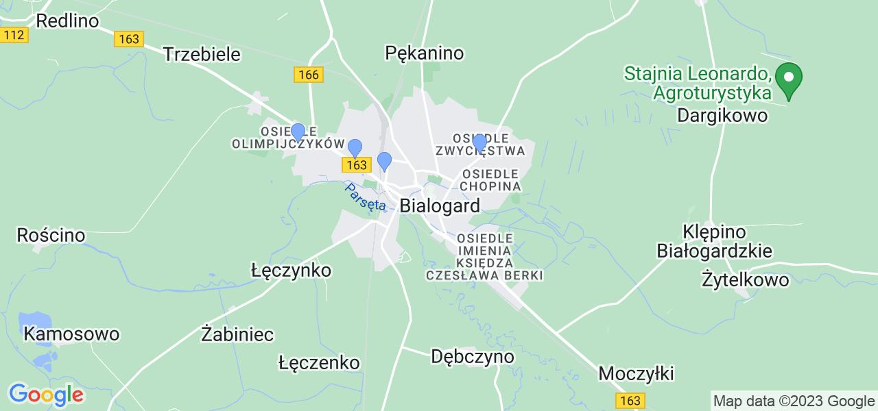Dostępne w Białogardzie lokalizacje punktów nadania, z których możesz skorzystać, chcąc wysłać turbinę do regeneracji w największym serwisie w Polsce