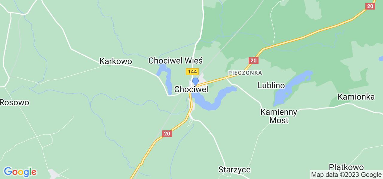 Dostępne w Chociwlu lokalizacje punktów nadania, z których możesz skorzystać, chcąc wysłać turbinę do regeneracji w największym serwisie w Polsce