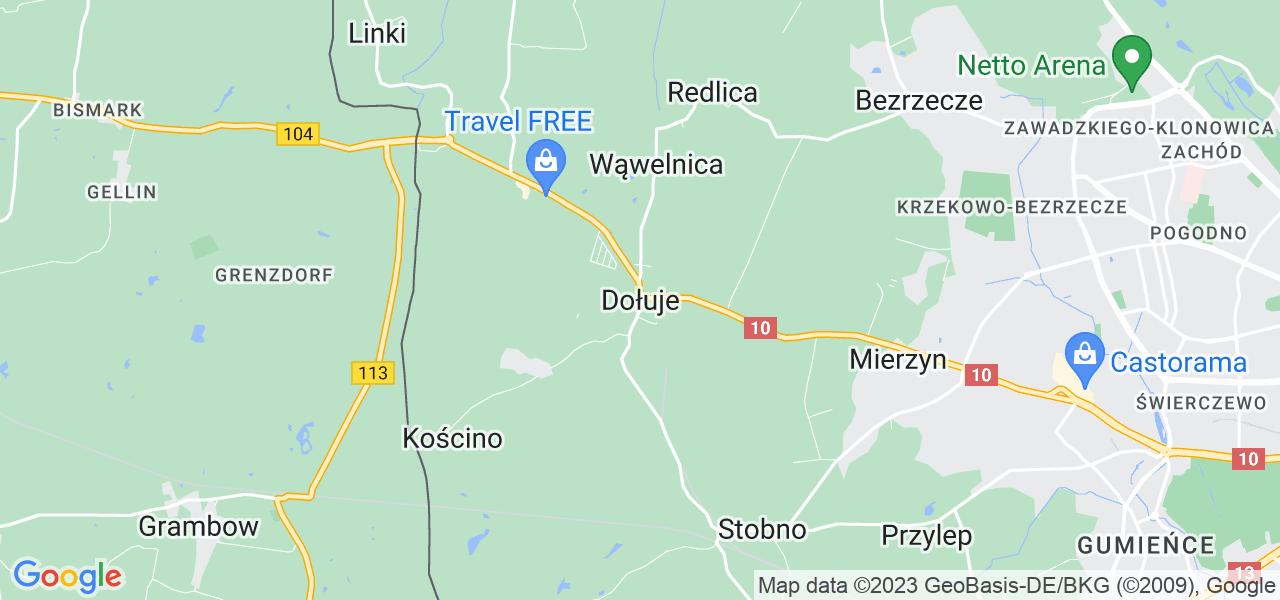 Dostępne w Dołujach lokalizacje punktów nadania, z których możesz skorzystać, chcąc wysłać turbinę do regeneracji w największym serwisie w Polsce