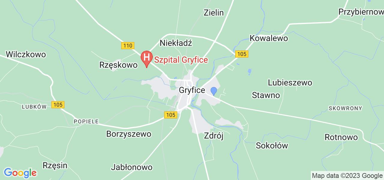 Dostępne w Gryficach lokalizacje punktów nadania, z których możesz skorzystać, chcąc wysłać turbinę do regeneracji w największym serwisie w Polsce