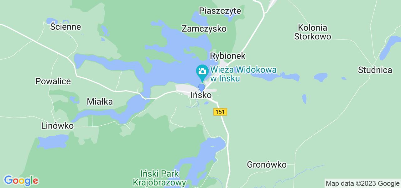 Dostępne w Ińsku lokalizacje punktów nadania, z których możesz skorzystać, chcąc wysłać turbinę do regeneracji w największym serwisie w Polsce