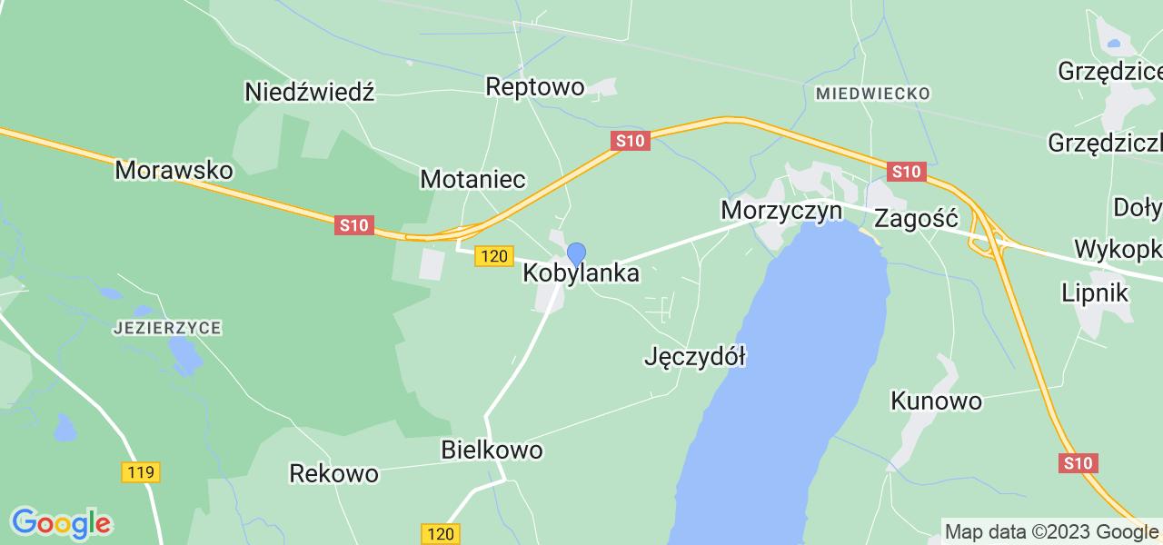 Dostępne w Kobylance lokalizacje punktów nadania, z których możesz skorzystać, chcąc wysłać turbinę do regeneracji w największym serwisie w Polsce