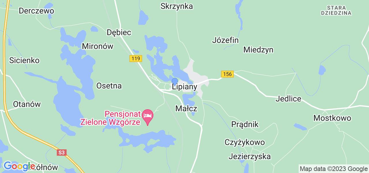 Dostępne w Lipianach lokalizacje punktów nadania, z których możesz skorzystać, chcąc wysłać turbinę do regeneracji w największym serwisie w Polsce
