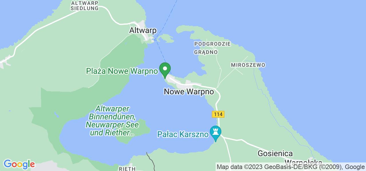Dostępne w Nowym Warpnie lokalizacje punktów nadania, z których możesz skorzystać, chcąc wysłać turbinę do regeneracji w największym serwisie w Polsce