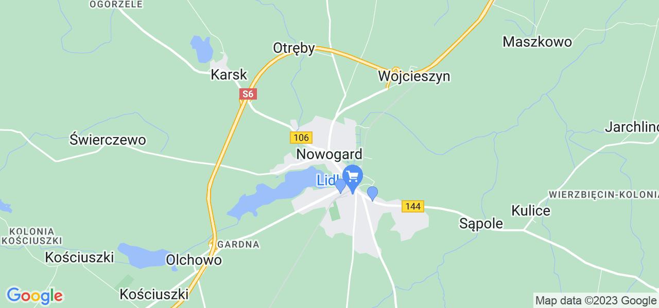 Dostępne w Nowogardzie lokalizacje punktów nadania, z których możesz skorzystać, chcąc wysłać turbinę do regeneracji w największym serwisie w Polsce