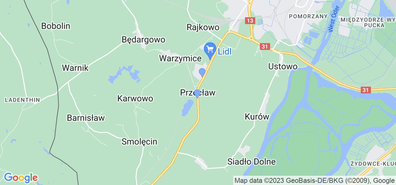 Dostępne w Przecławiu lokalizacje punktów nadania, z których możesz skorzystać, chcąc wysłać turbinę do regeneracji w największym serwisie w Polsce