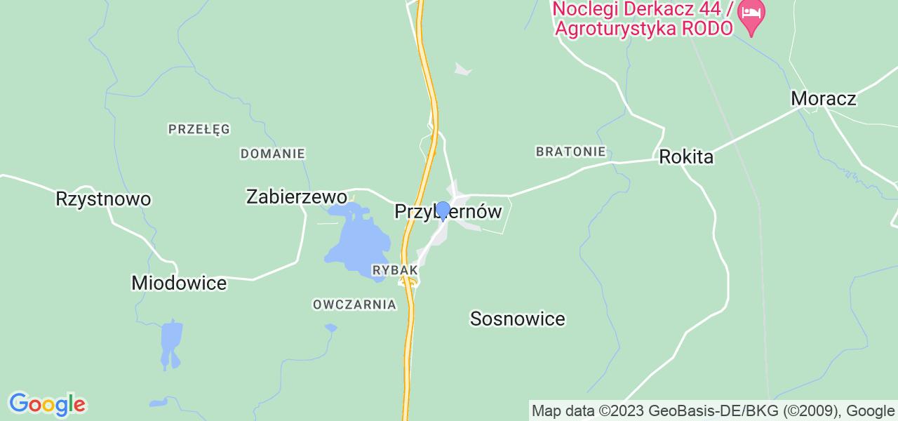Dostępne w Przybiernowie lokalizacje punktów nadania, z których możesz skorzystać, chcąc wysłać turbinę do regeneracji w największym serwisie w Polsce