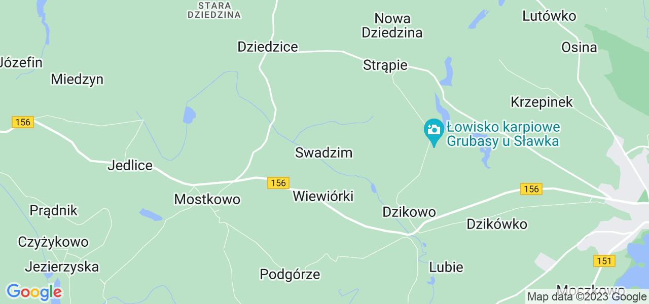 Dostępne w Swadzimie lokalizacje punktów nadania, z których możesz skorzystać, chcąc wysłać turbinę do regeneracji w największym serwisie w Polsce