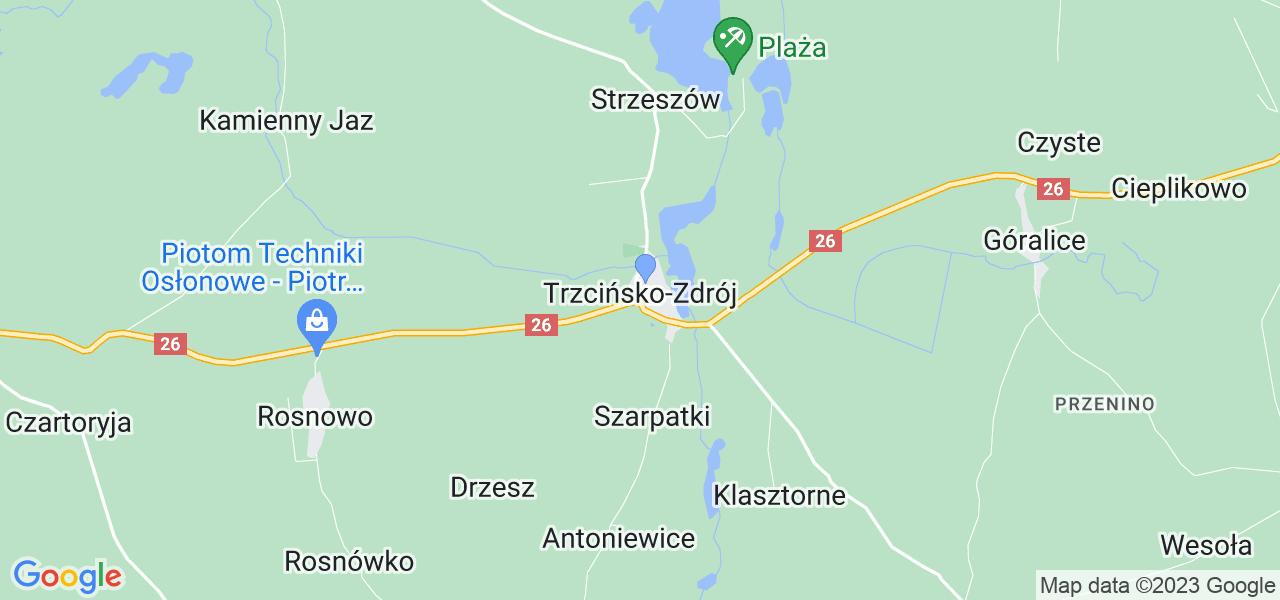 Dostępne w Trzcińsku-Zdroju lokalizacje punktów nadania, z których możesz skorzystać, chcąc wysłać turbinę do regeneracji w największym serwisie w Polsce