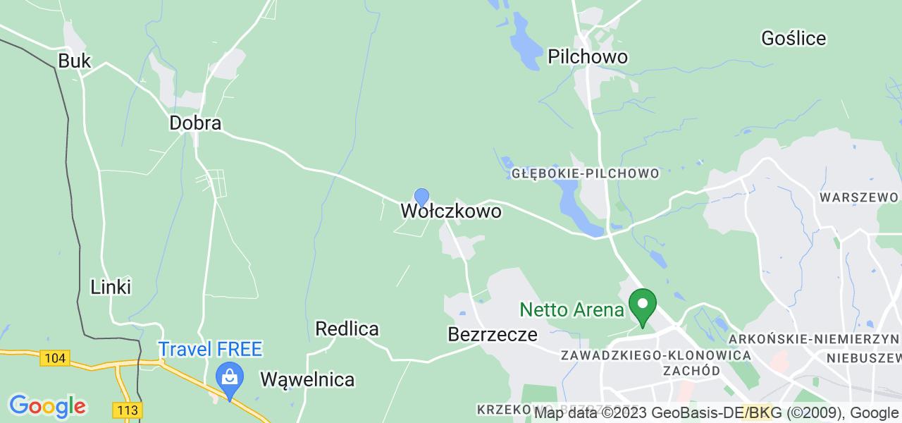 Dostępne w Wołczkowie lokalizacje punktów nadania, z których możesz skorzystać, chcąc wysłać turbinę do regeneracji w największym serwisie w Polsce