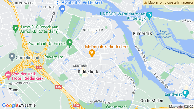 Hyundai+Ridderkerk+B.V. op Google Maps