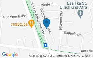 Zahnarztpraxis Dr. Rainer Möhler, Konrad-Adenauer-Allee 57, 86150 Augsburg