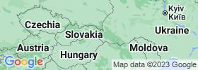 Zakarpattia map
