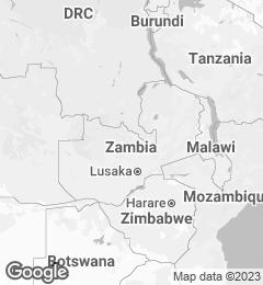 Google Map of Zambia