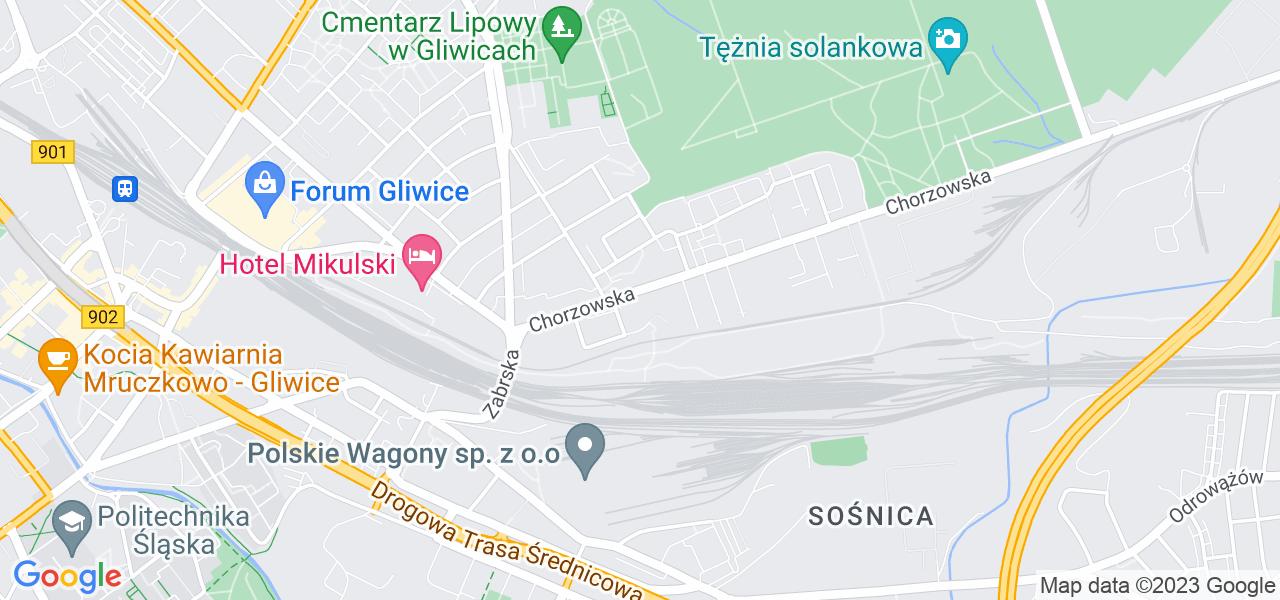 Osiedle Zatorze w Gliwicach – w tych punktach ekspresowo wyślesz turbinę do autoryzowanego serwisu