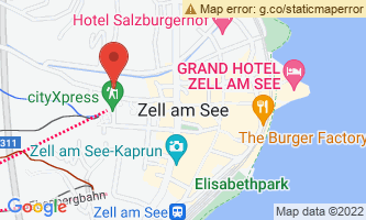 Google Map of Zell am See, AT