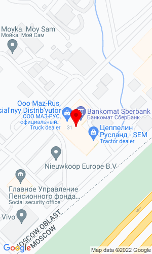 Google Map of Zeppelin Russland 143441, Moscow region, Krasnogorsk district, Moscow, Russia,