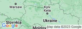 Zhytomyr map