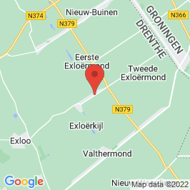 Google map of Odeon Cultuurhuis, 2e Exloërmond