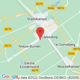 Google map of Villa Flora, Nieuw-Buinen