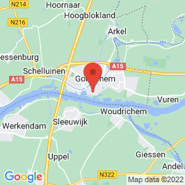 Google map of De Bank van Noppes, Gorinchem