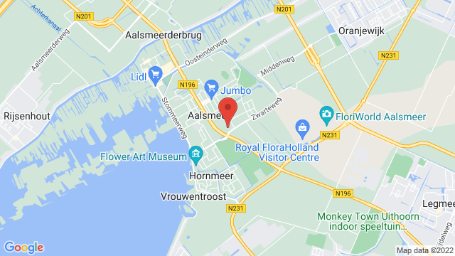 Aalsmeer op Google Maps