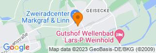 Google Map of Zwischen den Wegen 7 58239 Schwerte