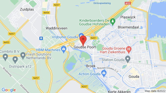 Hans+Jongerius+Gouda op Google Maps