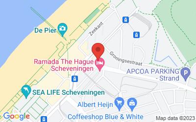 Map of 25 - Bilderberg Europa Hotel Scheveningen