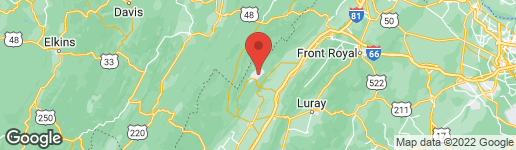 Map of ANDERSON ROAD BASYE, VA 22810