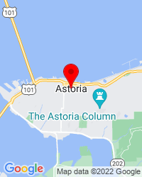 Google Map of astoria, OR