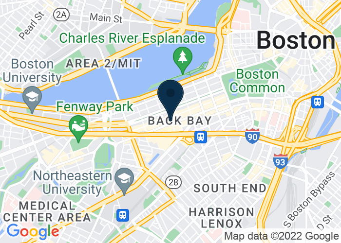 Map of at 755 Boylston St., Boston, MA 02116