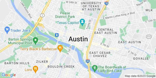 Google Map of Austin