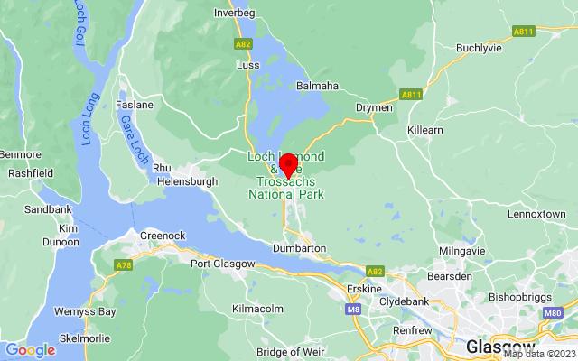 Google Map of balloch scotland