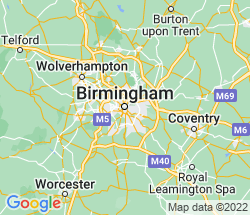 small map of Birmingham