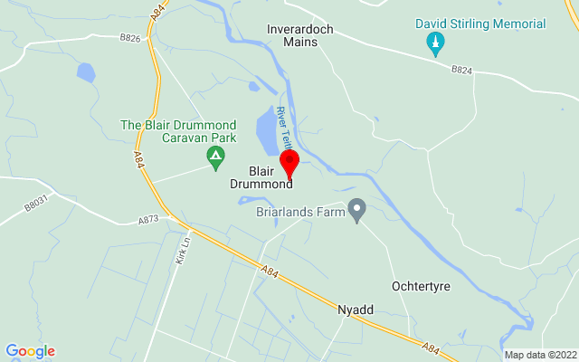 Google Map of blair drummond safari park