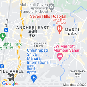 Google Map of bonanza building , sahar plaza , below J B Nagar Metro station , Andheri-Kurla road , Andheri(East), 400 059
