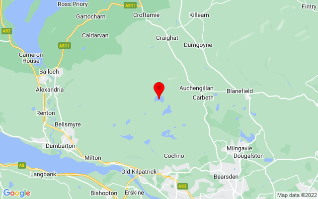 Google Map of burncrooks reservoir