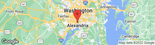 Map of Business For Sale - 720 Jefferson St Alexandria, VA 22314