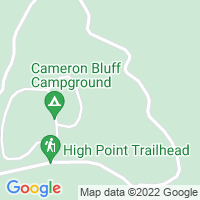 Cameron Bluff gentemot Mount Magazine
