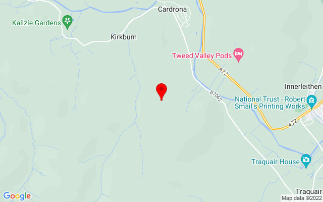 Google Map of cardrona forest
