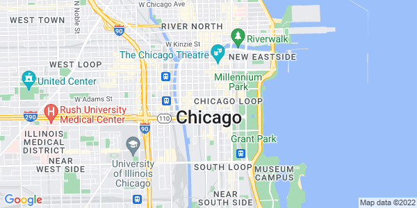 Google Map of Chicago