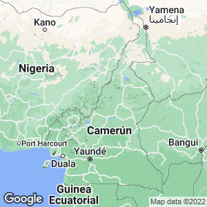 Camerún Map