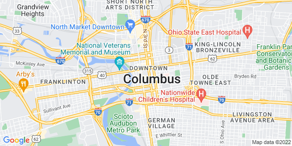 Google Map of Columbus
