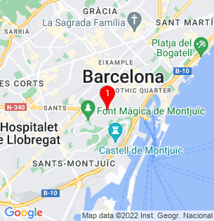 Google Map of concordia, Barcelona, BARCELONA, Spain
