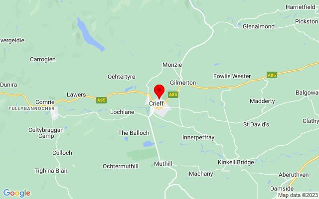 Google Map of crieff hydro scotland
