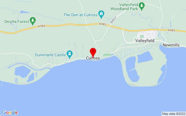 Google Map of culross fife