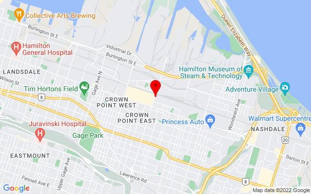 Google Map of dunbar harbour