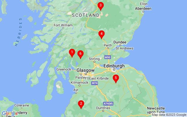 Google Map of dunblane scotland